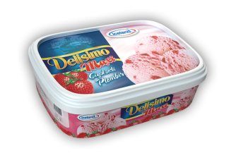 MAXI DELISIMO | STRAWBERRY FLAVOUR PLOMBIERE | TRAYS