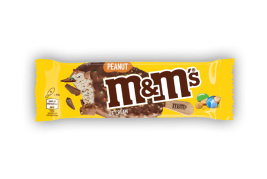 """M&Ms"" eskimo with peanuts"